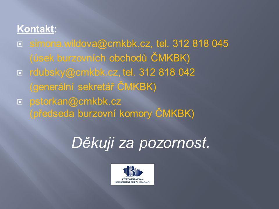 Kontakt:  simona.wildova@cmkbk.cz, tel.