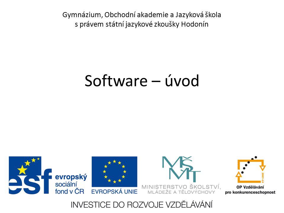Číslo projektu CZ.1.07/1.5.00/34.0266 Číslo materiálu VY_12_INOVACE_PoP_IN_1E_01 Autor Petr Polách Tematický celek Informační gramotnost Ročník 1.