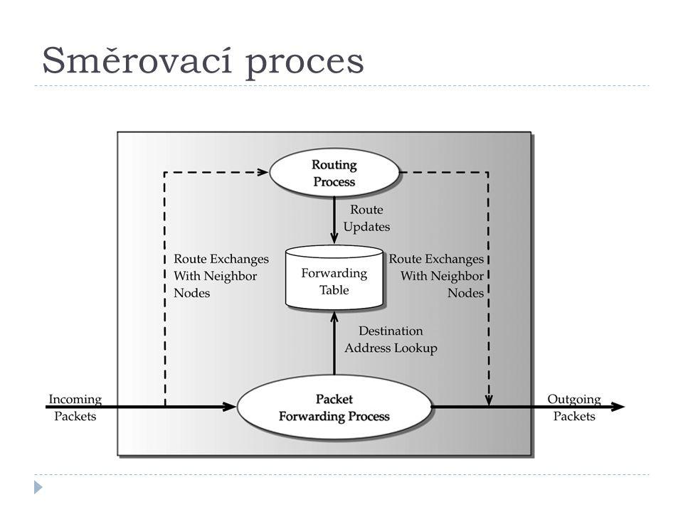 Směrovací proces