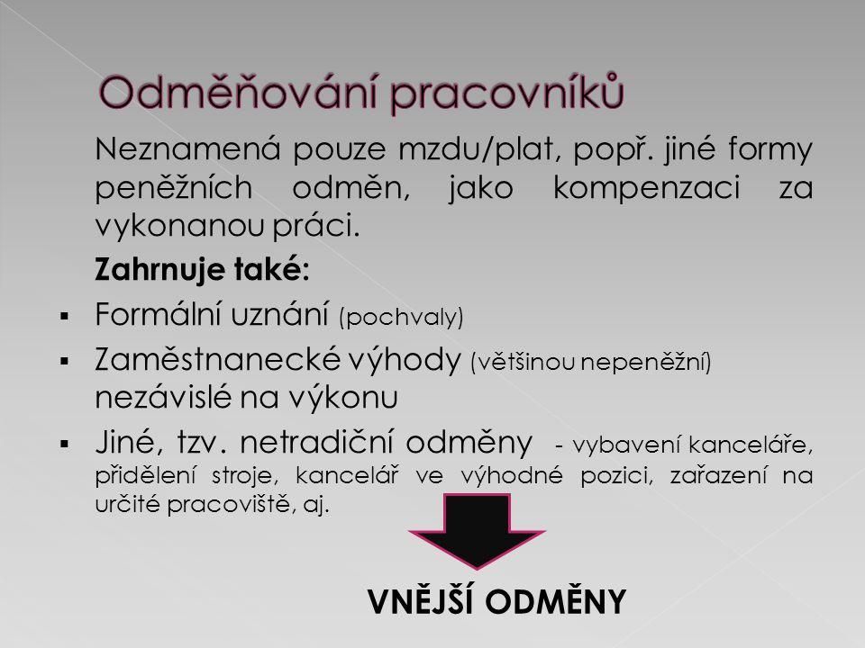KOUBEK, Josef.Řízení lidských zdrojů. 2. vyd. Praha: MANAGeMENT PRESS, a.s.