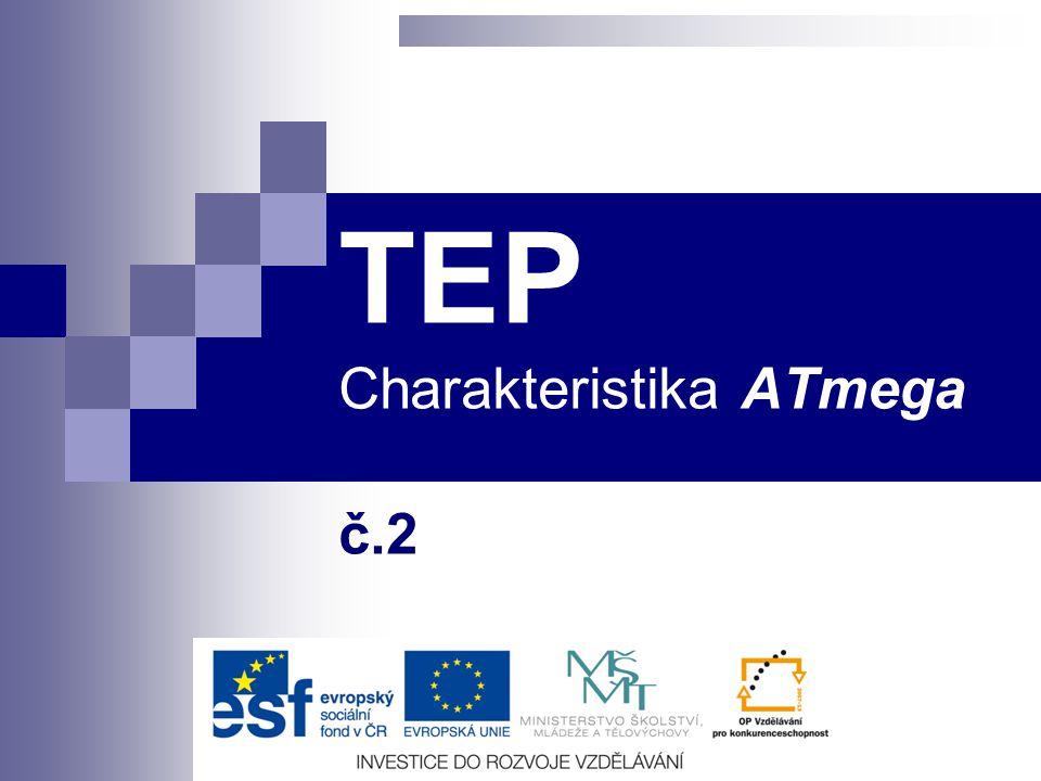 TEP Charakteristika ATmega č.2