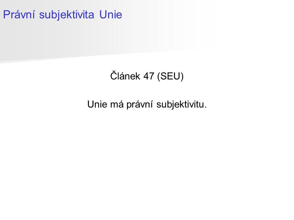 Článek 50 (SEU) 1.Každý členský stát se v souladu se svými ústavními předpisy může rozhodnout z Unie vystoupit.