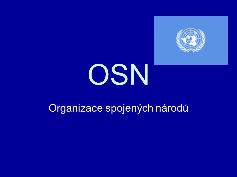 CO je to OSN.