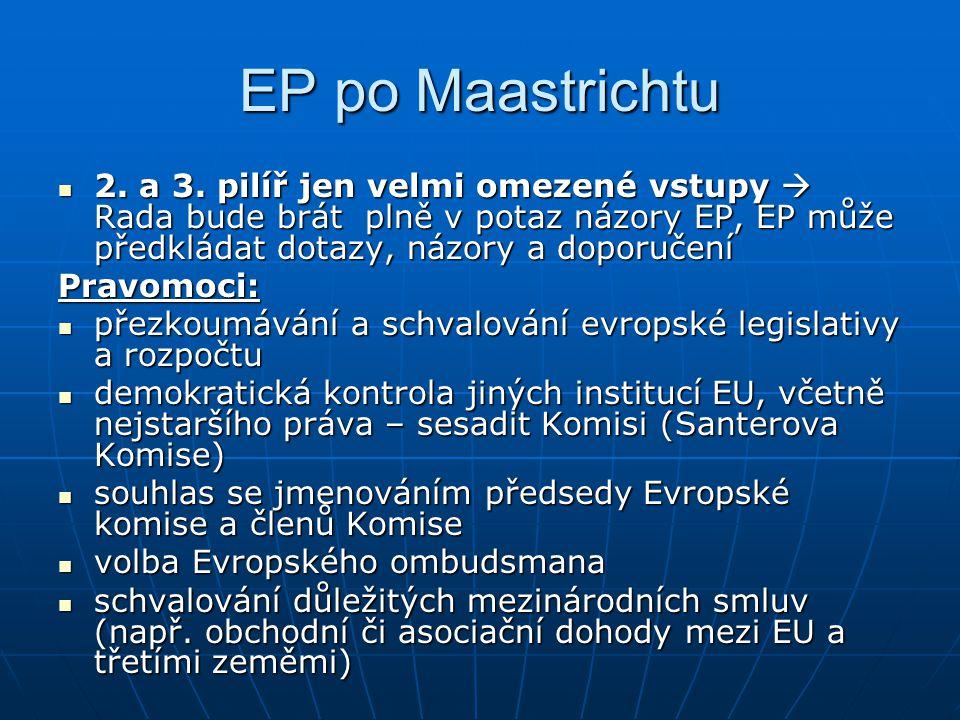 EP po Maastrichtu 2.a 3.