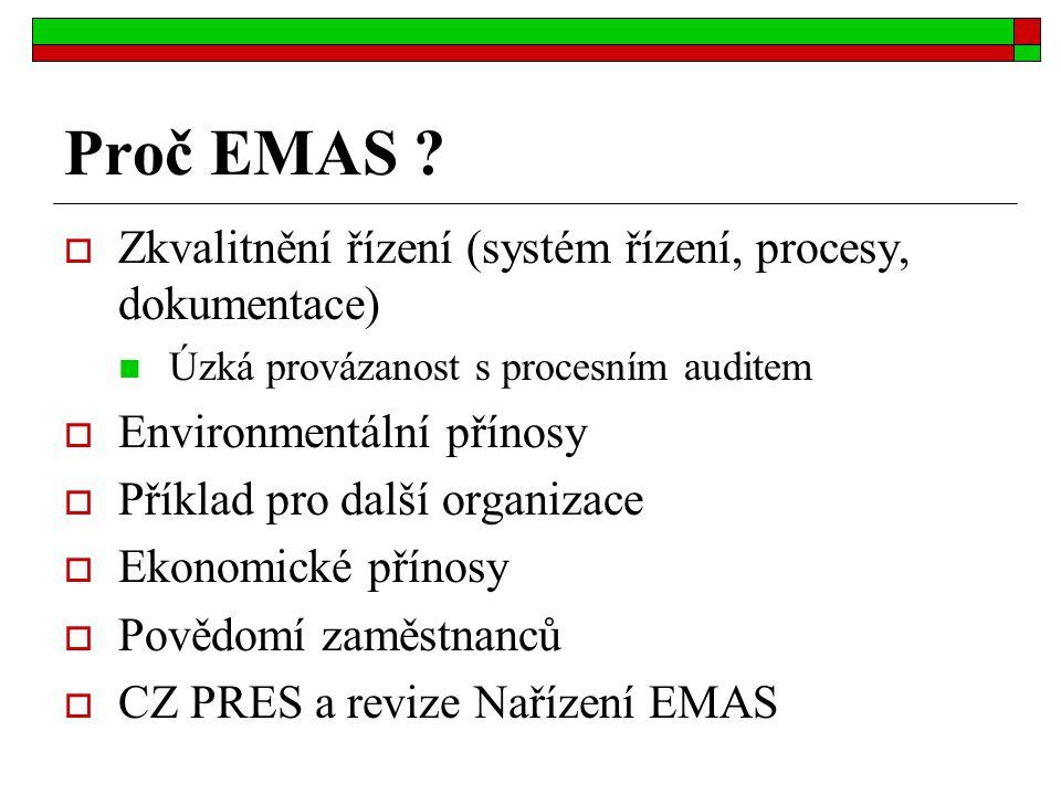 Proč EMAS .