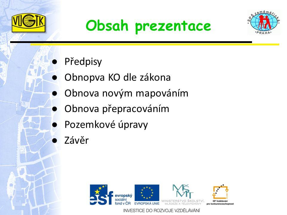 Předpisy ● Občanský zákoník - č.89/2012 Sb.(NOZ) ● Zákon č.