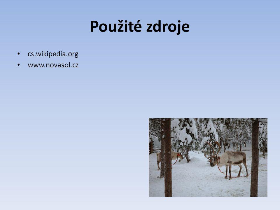 Použité zdroje cs.wikipedia.org www.novasol.cz