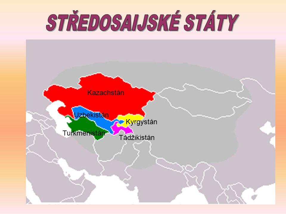 Kazachstán Turkmenistán Uzbekistán Kyrgystán Tádžikistán