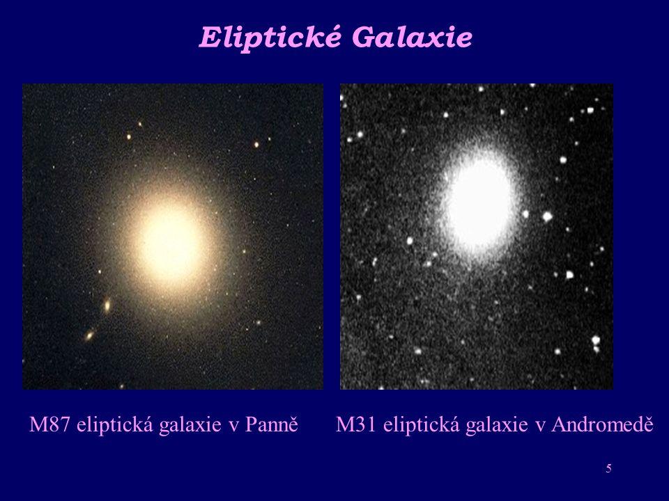 4 Spirální galaxie Spirální galaxie Galaxie v souhvězdí v souhvězdí Panny Andromedy Spirální galaxie Mléčná dráha