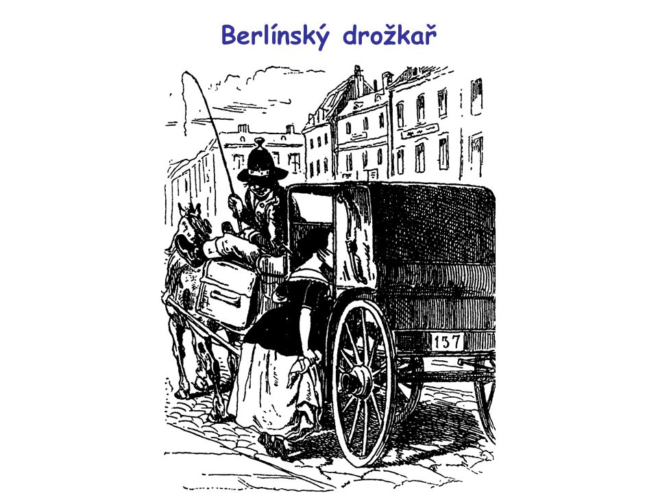 Berlínský drožkař