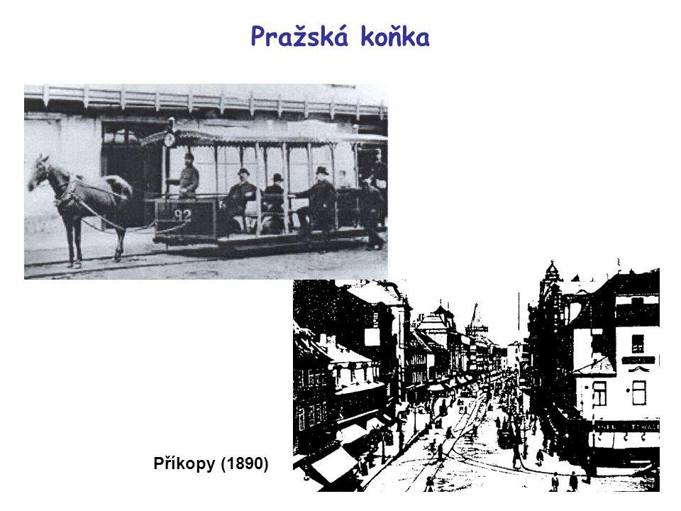 Pražská koňka Příkopy (1890)