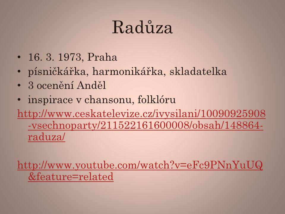 Radůza 16.3.