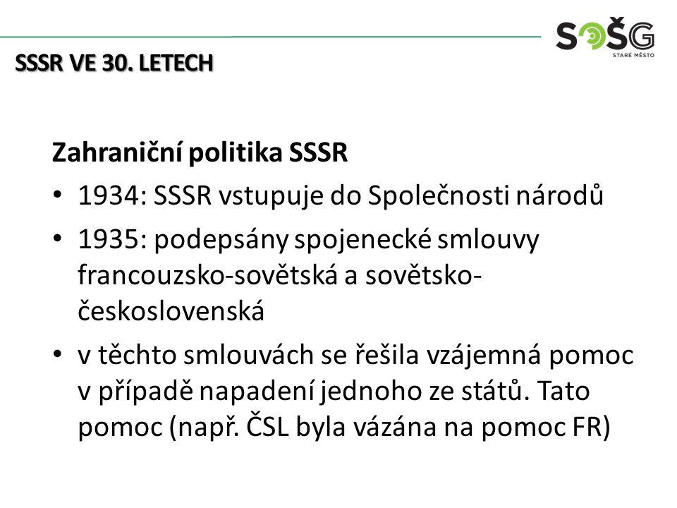 SSSR VE 30.
