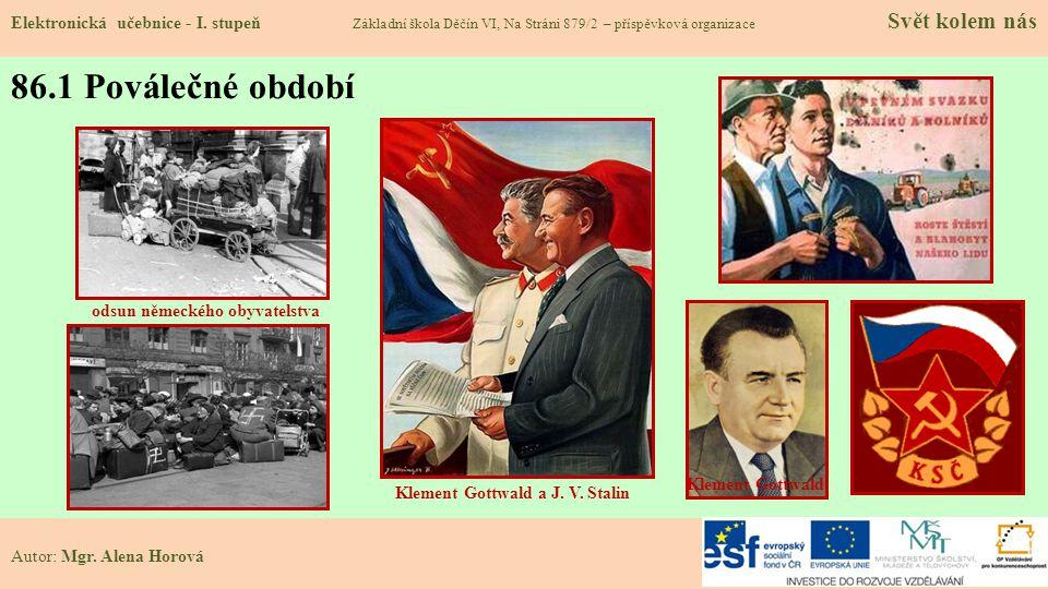 86.1 Poválečné období Elektronická učebnice - I.