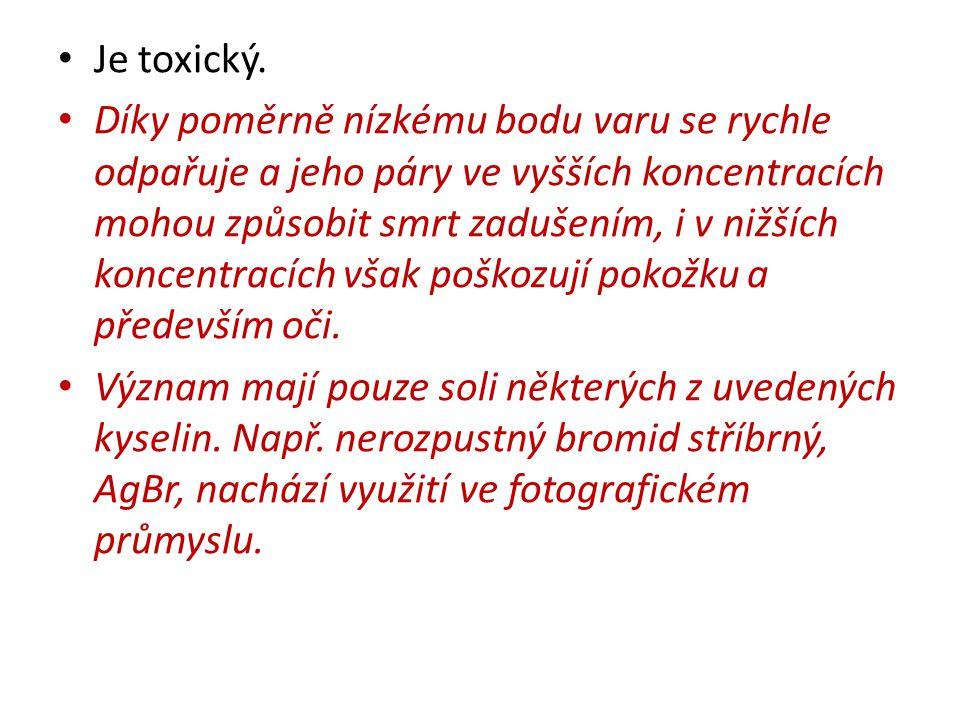 Je toxický.