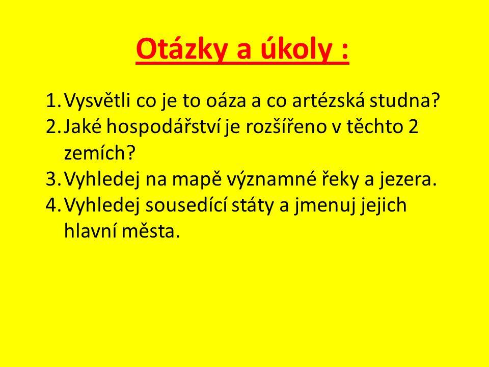 Zdroje : -Jednotlivé obrázky dostupné z odkazů : http://entredosmons.files.wordpress.com/2010/04/mapa-uzbekistan1.gif http://img.aktualne.centrum.cz/116/6/1160620-mapa-turkmenistan.png http://www.lideazeme.cz/files/imagecache/dust_filerenderer_big/files/upload/sto ry_press/2400/026_001_jpg_49637f2317.jpg http://www.tyden.cz/obrazek/turkmenistan113-48dcbe2576ff4_290x311.jpg http://www.advantour.com/img/turkmenistan/turke.jpg