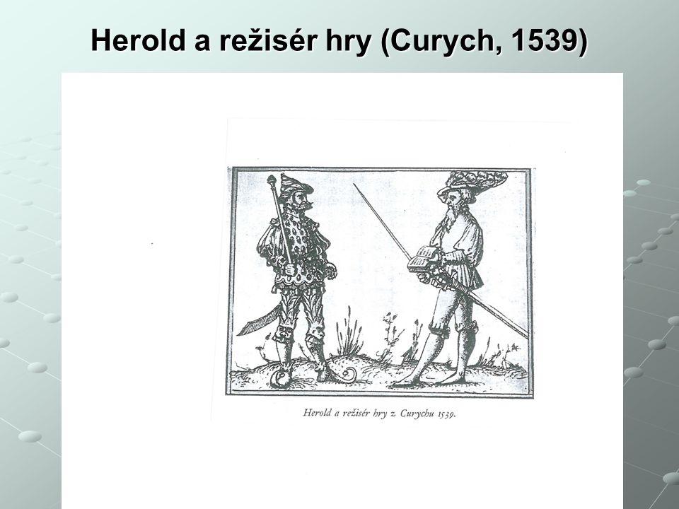 Herold a režisér hry (Curych, 1539) Václav Cejpek - 14. 2. 2014 // TAPD