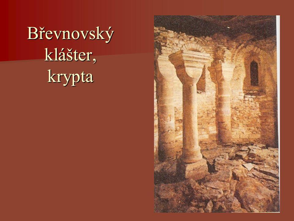 Břevnovský klášter, krypta