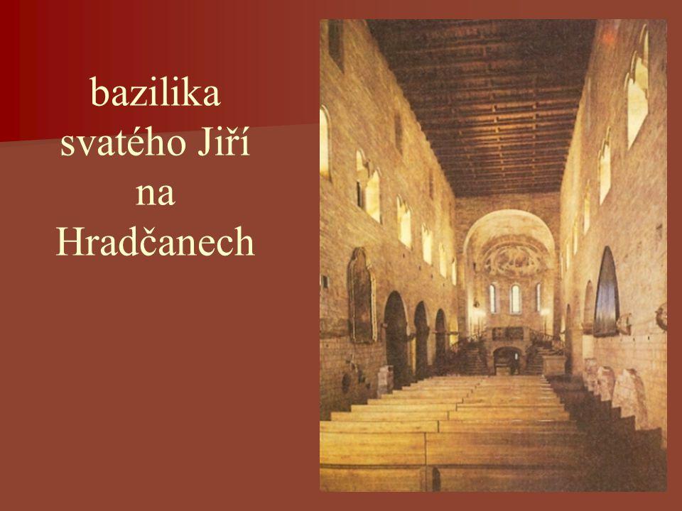 bazilika svatého Jiří na Hradčanech