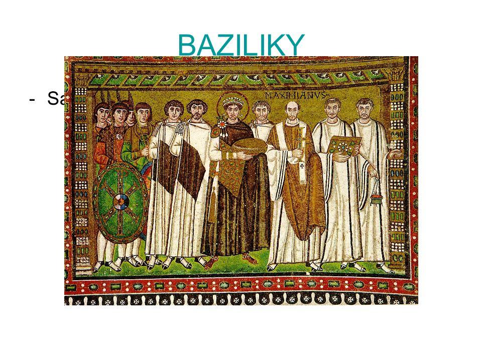 BAZILIKY -San Vitale v ravenně