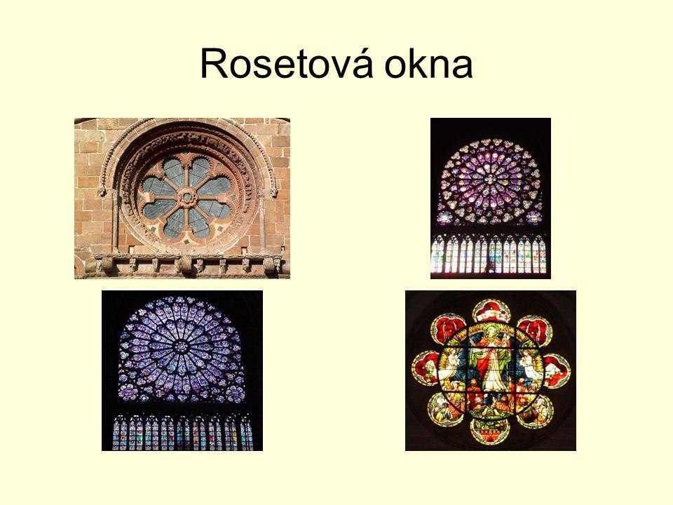 Rosetová okna