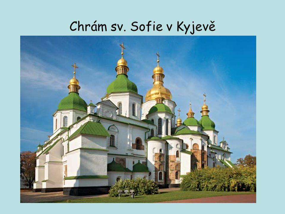 Chrám sv. Sofie v Kyjevě