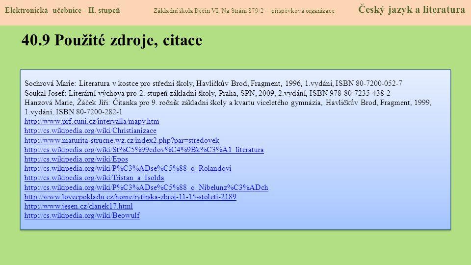 AutorMgr.Eva Zralá Období07 – 12/2011 Ročník8. a 9.