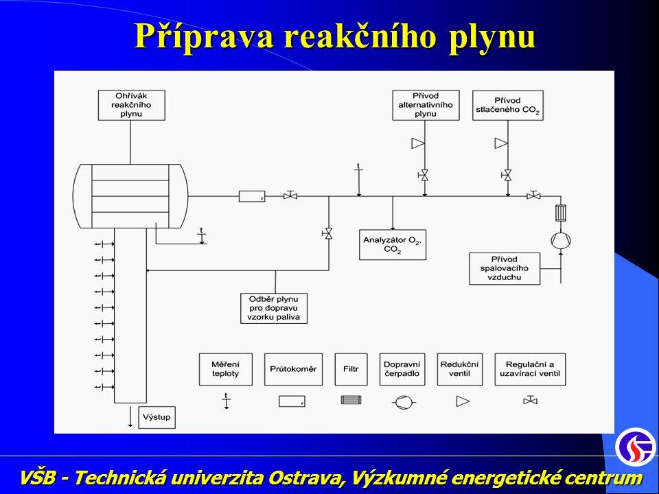 VŠB - Technická univerzita Ostrava, Výzkumné energetické centrum Příprava reakčního plynu