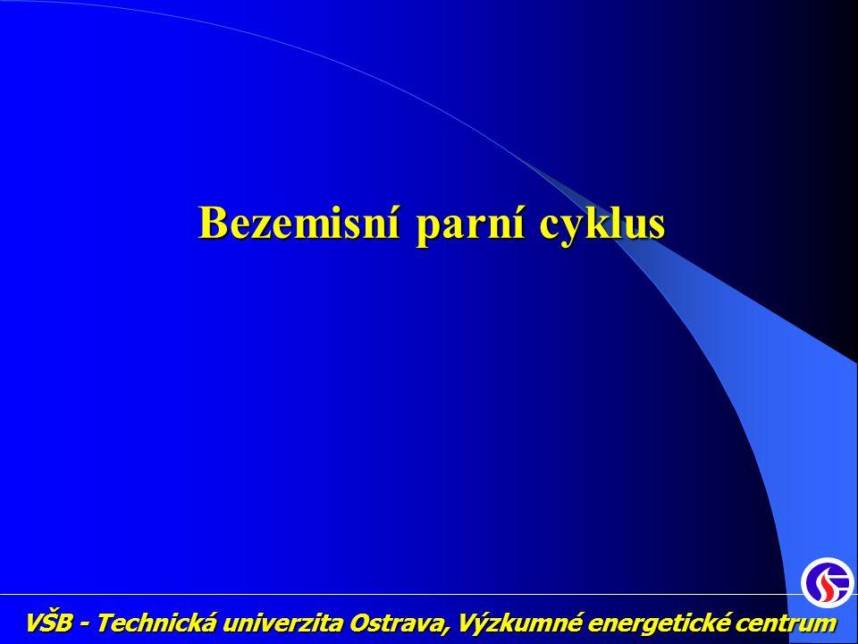 VŠB - Technická univerzita Ostrava, Výzkumné energetické centrum Bezemisní parní cyklus