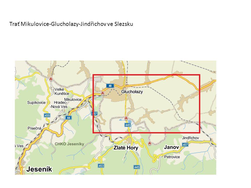 Trať Mikulovice-Glucholazy-Jindřichov ve Slezsku