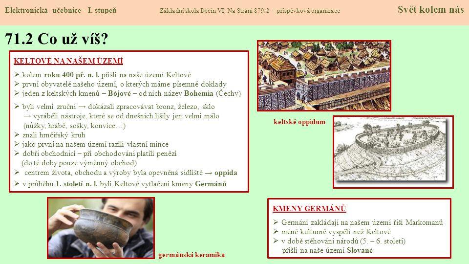 71.3 Jaké si řekneme nové termíny a názvy.Elektronická učebnice - I.
