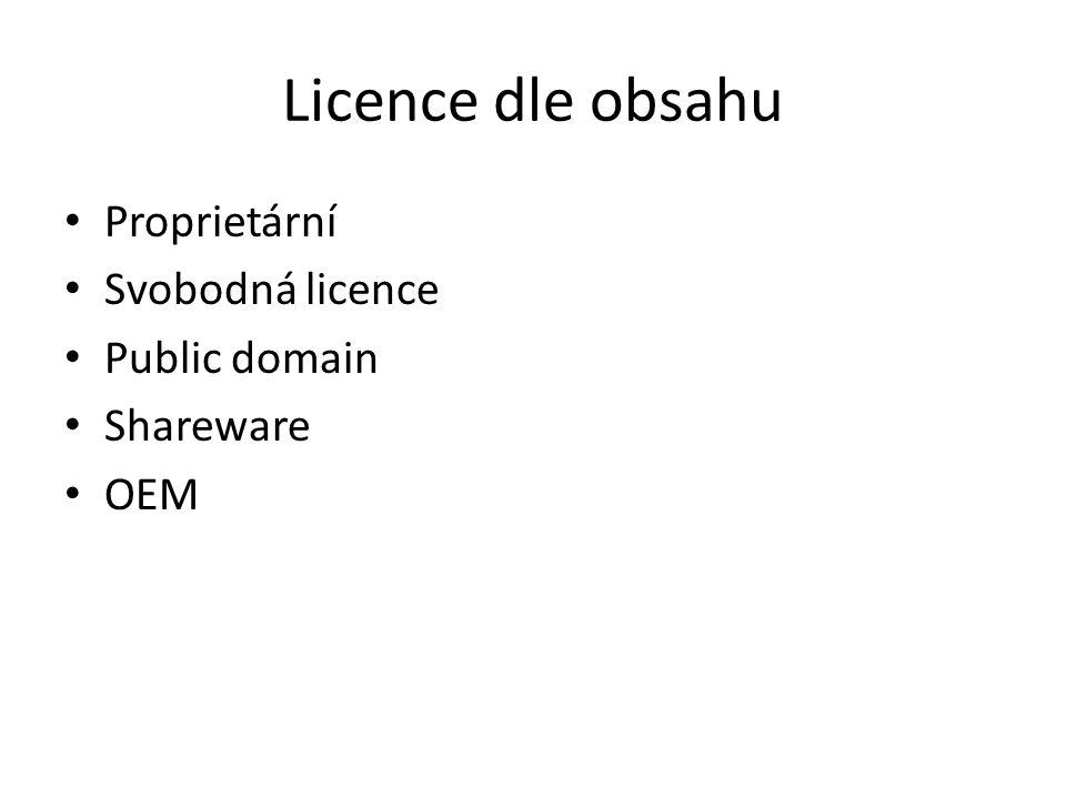 Svobodné licence BSD (Berkeley Software Distribution) volné šíření licencovaného obsahu, přičemž vyžaduje pouze uvedení autora a informace o licenci, spolu s upozorněním na zřeknutí se odpovědnosti za dílo.