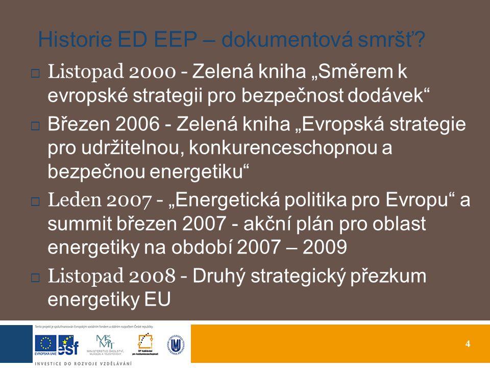4 Historie ED EEP – dokumentová smršť.