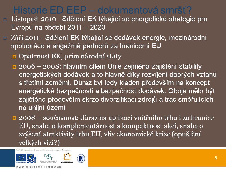 5 Historie ED EEP – dokumentová smršť.