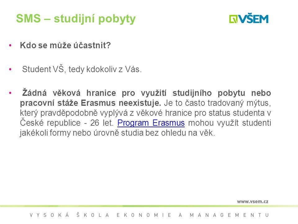 Výběrové řízení ERASMUS Podmínkou pro zařazení do výběrového řízení je splnění minimálních kvalifikačních podmínek (student má v době výjezdu splněno min.