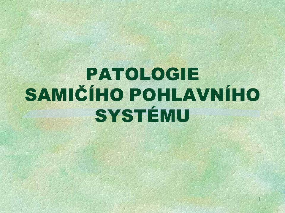 1 PATOLOGIE SAMIČÍHO POHLAVNÍHO SYSTÉMU