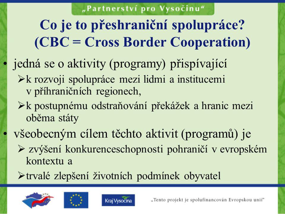 Co je to přeshraniční spolupráce.