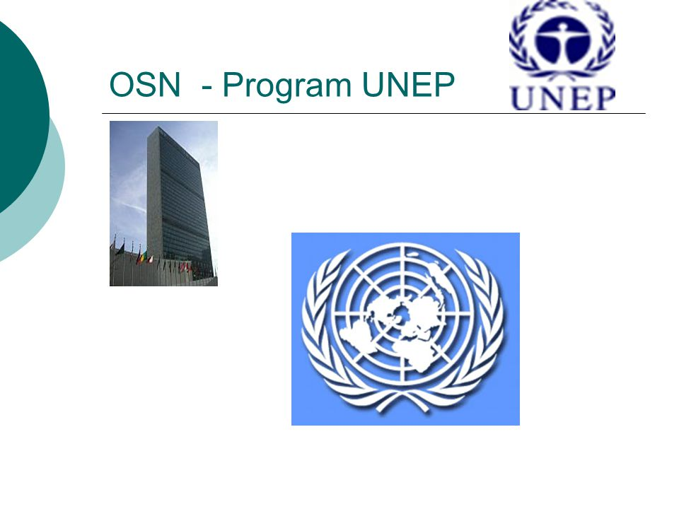 OSN - Program UNEP
