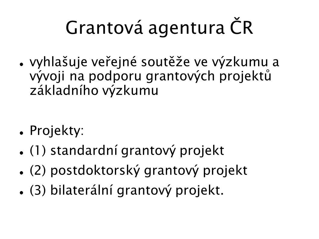 Hodnotící kritéria pro výběr projektů TAČR Bodovaná kritéria Kapacity výzkumného týmu (max.