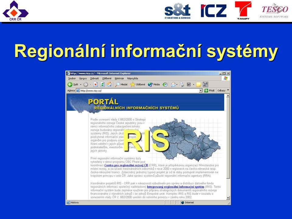Regionální informační systémy RIS