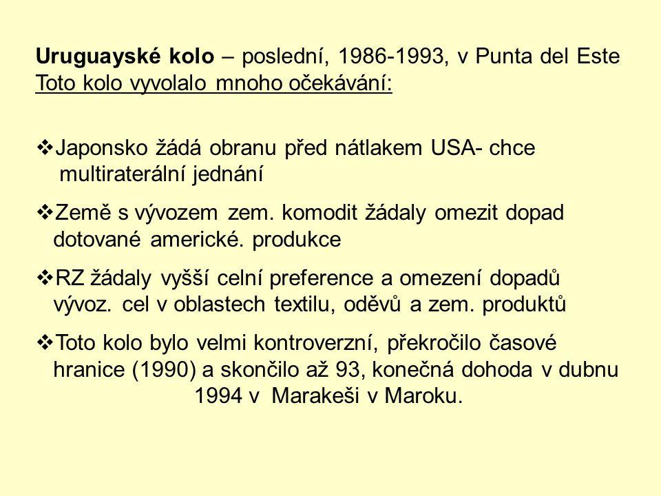 """Nový fenomén Tokijského kola  …tímto fenoménem byl """"nový"""" projev protekcionismu a to : """"TECHNICKÉ PŘEKÁŽKY"""" - tento """"jev"""" obcházel dohody o liberaliz"""