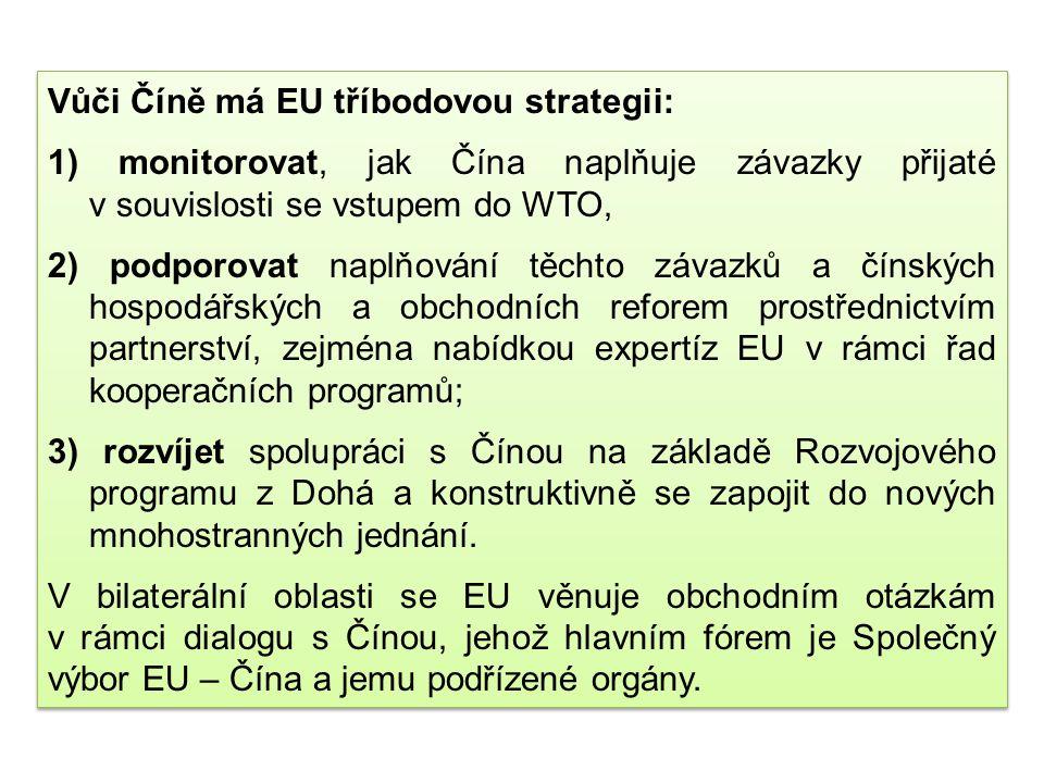 EU v minulosti podporovala a i nadále bude podporovat brzký vstup Ruska a těch zemí SNS, které dosud nejsou členy, do WTO za odpovídajících podmínek,