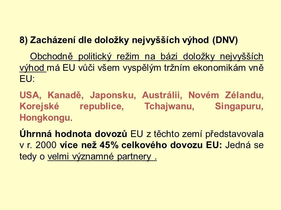Během summitu konaného 28. června 2000 se obě strany dohodly na zavedení pravidelného dialogu na vysoké úrovni zaměřeného na otázky WTO. Summit EU – I