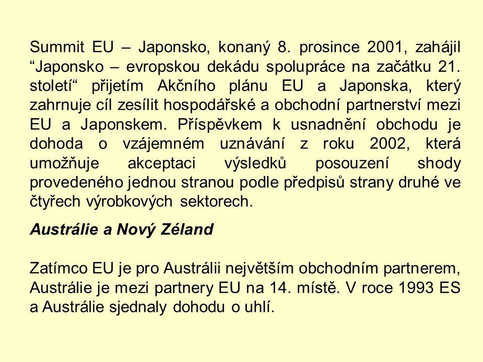 Japonsko Japonsko bylo zdaleka nejvýznamnější asijskou ekonomikou minulého milenia. Spolu s EU a USA patří k hlavním pilířům světového hospodářství. P