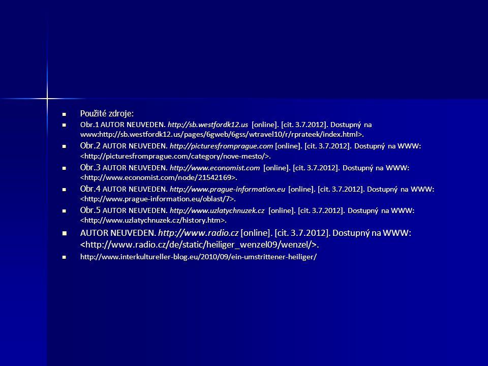 Použité zdroje: Použité zdroje: Obr.1 AUTOR NEUVEDEN. http://sb.westfordk12.us [online]. [cit. 3.7.2012]. Dostupný na www:http://sb.westfordk12.us/pag