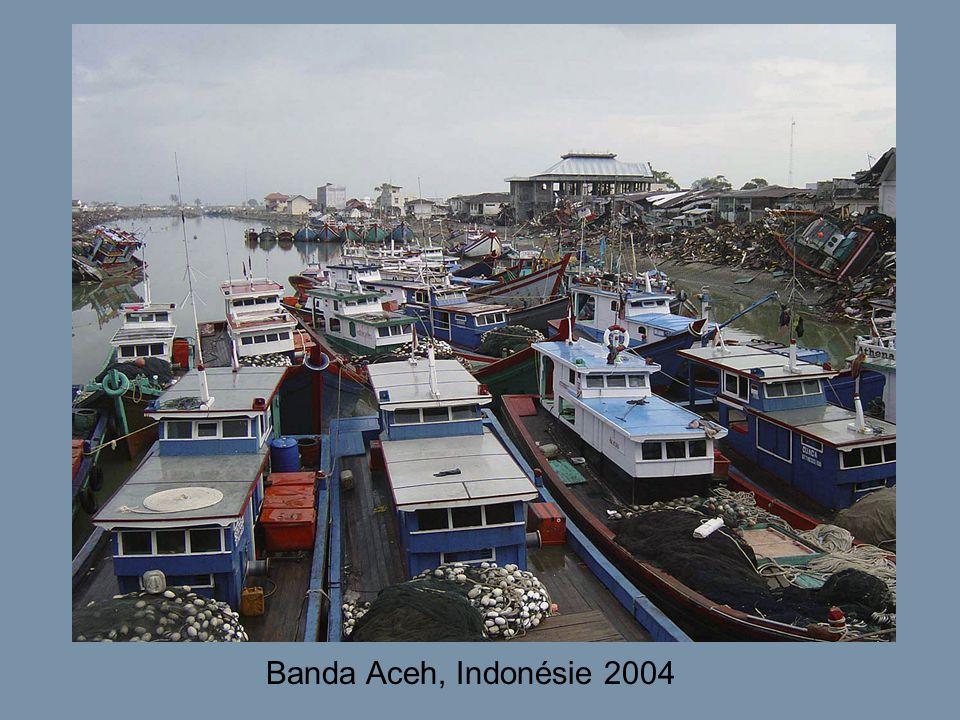 Banda Aceh, Indonésie 2004