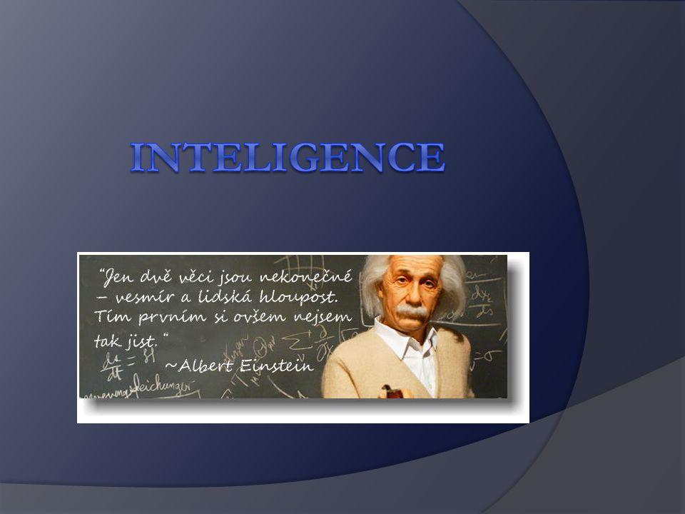 Počítání IQ – William STERN IQ = MV (mentální věk) CHV (chronologický věk) X 100 Např.: 10 dosáhne výsledku desetiletého dítěte: IQ = 10/10 x 100 = 100 10 chlapec dosáhne výsledku jako dvanáctiletý, jaký bude jeho výsledný IQ?