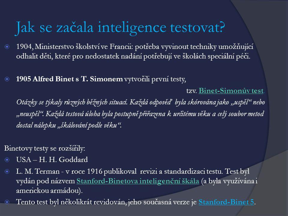 Guilfordův model struktury intelektu