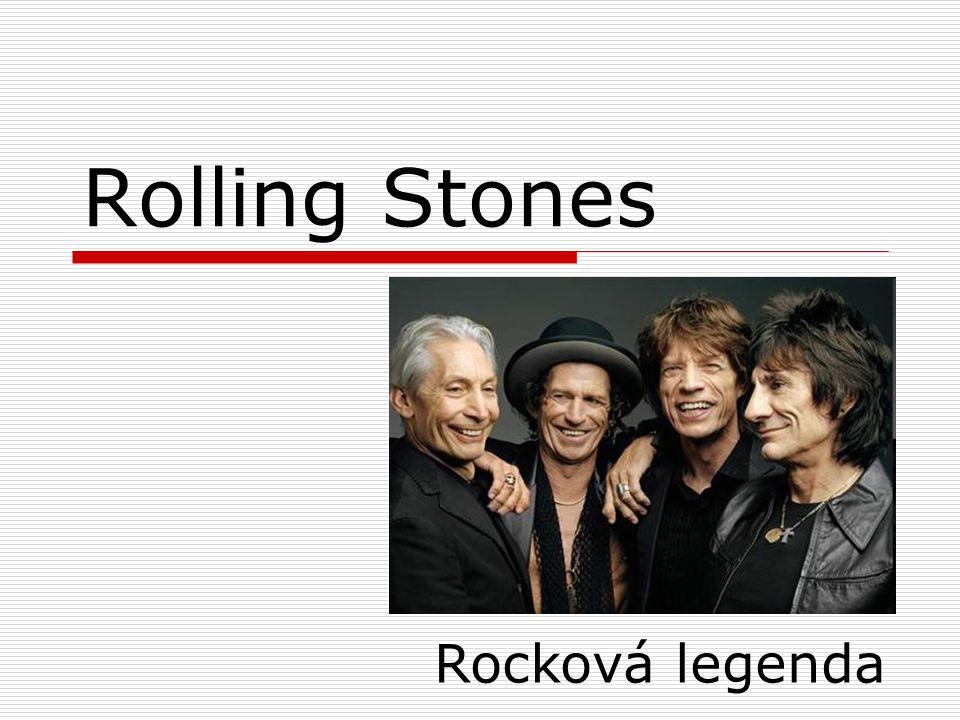 Vznik kapely Kapela Rolling Stones vznikla roku 1962 v Londýně a hraje dodnes, proslavila se již v 60.