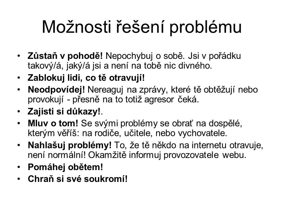 Kybergrooming Nejznámější případ z posledních let v ČR představuje zneužití 21 chlapců deviantem Pavlem Hovorkou - groomerem z Prahy.